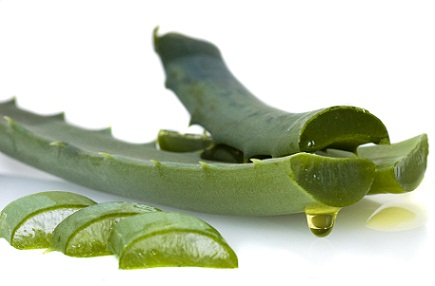 Hair care tips with aloe vera and herbs